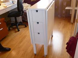 fabriquer table pliante murale table de coupe ikea pliante norden ma maman la fée