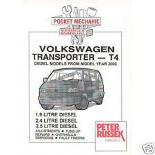 volkswagen t4 car service u0026 repair manuals ebay