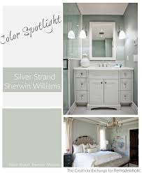 color spotlight silver strand by sherwin williams remodelaholic