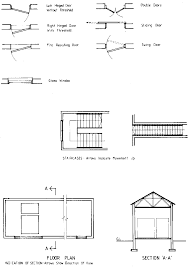 common architectural symbols drafting drawings stairs pinned by