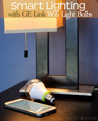 ge link light bulb smart lighting with ge wifi light bulbs for easier daily routines