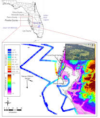 Florida Gulf Beaches Map by Submarine Groundwater Discharge Along The West Florida Shelf Is