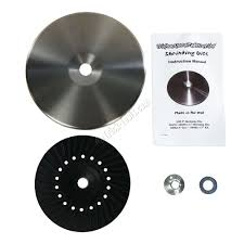 new metal shrinking disc kit helps smooth damaged panels and