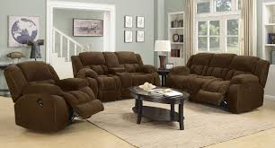 Recliner Living Room Set Weissman Reclining Living Room Set Brown Living Room Sets