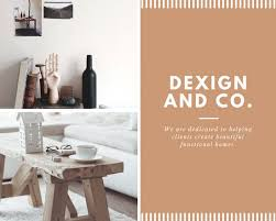 brown nordic interior design photo collage templates by canva