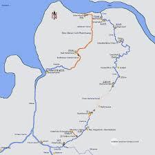 map of germany in europe elbe weser waterway germany european waterways eu