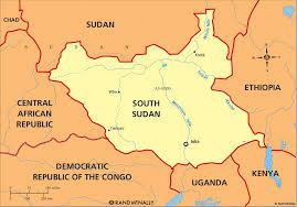 Sudan Africa Map by South Sudan Munplanet