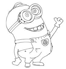 cute minion coloring pages u2014 marifarthing blog free minion