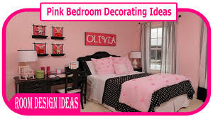 pink bedroom decorating ideas pink and brown bedroom decorations