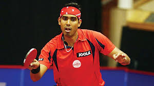 Table Tennis Championship Table Tennis Championship Achanta Sharath Kamal Manika Lead Home