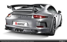 porsche gt3 engine akrapovič takes the porsche 911 gt3 to even greater heights u2013 p9xx