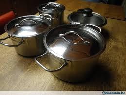 cuisine de bonne qualité 4 casseroles de cuisine bonne qualite pro a vendre 2ememain be