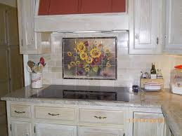 Kitchen Tile Murals Backsplash by Ceramic Tile Designs Pots Vases And Urn Tiles Bm Sunflower