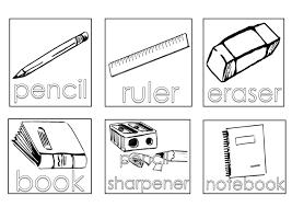 supplies coloring pages items review gekimoe u2022 91189