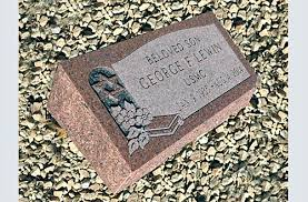 affordable grave markers how to purchase a custom bevel granite grave marker