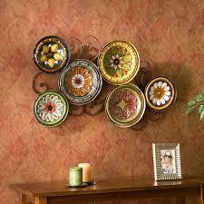 home decor plates southern enterprises milan italian plates wall art walmart com