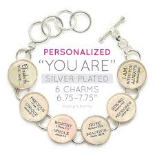 personalized charms scriptures silver plated bible verse charm
