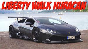 Lamborghini Huracan Liberty Walk - lexy roxx driving her liberty walk lamborghini huracan youtube