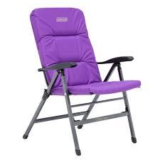 chair flat fold pioneer recliner purple