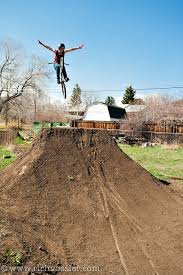 Backyard Bmx Dirt Jumps Collin Hudson Rich Vossler Photography