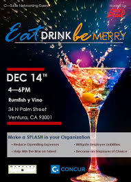 cocktail splash make a splash in your organization eat drink and be merry w