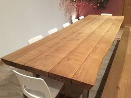 Rustic Oak Dining Tables Rustic Dining Table And Chairs From Tables 3 4m X 1 1m X