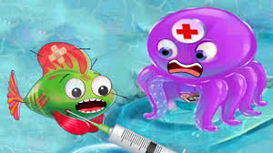 ocean doctor kids learn care sea animals fun