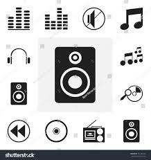 Seeking Song Set 12 Editable Song Icons Includes Stock Vector 701465743