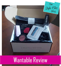 discover new beauty and makeup products with wantable review