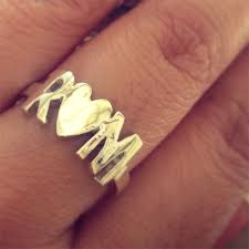 Ring With Initials Initials Personalised Ring Rs 1850 Gifts Ideas In India