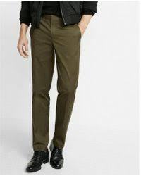 jachs olive green cotton cargo pants in green for men lyst