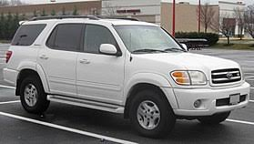 large toyota suv toyota sequoia