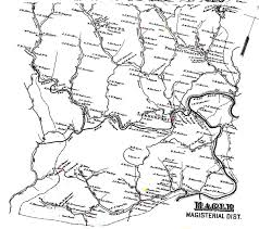 Wv Map Eagle District Map And Atlas 1886 Harrison County Wv