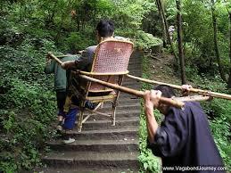 Sedan Chairs Bamboo Sedan Chair