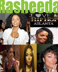 rashidas hip hop curly hair pic fro rapper rasheeda from love hip hop atlanta naturally