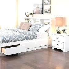 bookcase bed with storage full bookcase storage bed w dresser