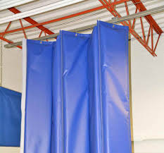 Retractable Welding Curtains Industrial Curtains Divider Walls Enclosures U0026 Partitions