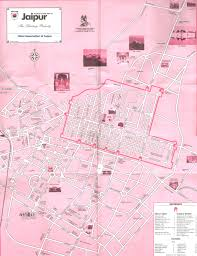 touristic map of jaipur maps jaipur travel guide jaipur tourism portal jaipur