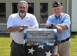 How To Retire A Flag Harford Funeral Home Legion Posts Team Up To Retire Flags The Aegis