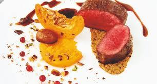 chevreuil cuisine recette de chef pour noël chevreuil courge châtaigne d alain