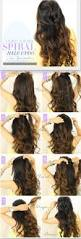 easy half updos for long hair hair style and color for woman