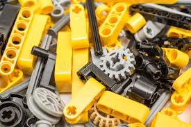 technic pieces technic pieces pile close up editorial stock image image of