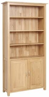 Cherry Wood Bookcase With Doors Astounding Wooden Bookcases With Doors Foter In Wood Bookcase