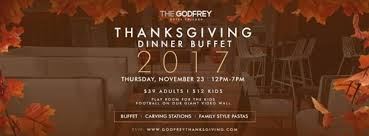 the godfrey thanksgiving chicago il nov 23 2017 12 00 pm