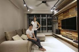 industrial style house house tour 25 000 industrial style interiors in this four room hdb