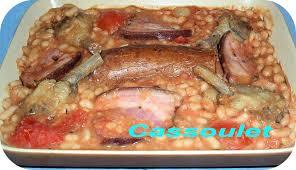 cuisine anglaise recette dictionnaire de cuisine et gastronomie cassoulet