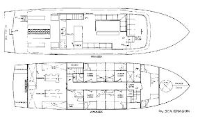 sea dragon floor plan sketch