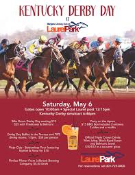 martini and rossi poster derby day laurel park