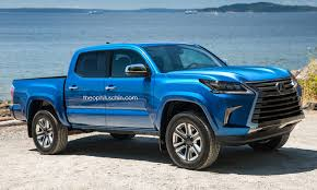 tacoma lexus toyota tacoma truck wearing lexus lx s makes one