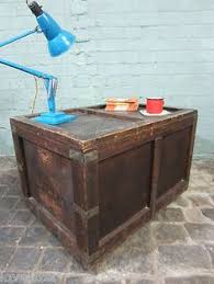 shipping crate coffee table reserved for peter 2 vintage wood crate bread shipping crate
